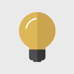 Lightbulb Ideas Creativity Development Icon Symbol Vector