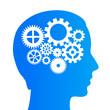 Thinking brain icon