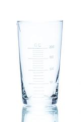 Temperature resistant conical beaker for measurements 200ml