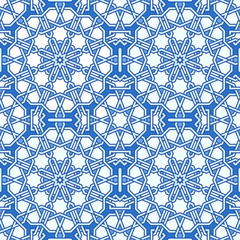 Intricate moorish eastern pattern