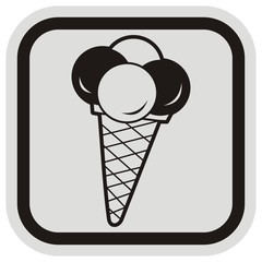 ice cream, frame