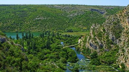 Roski Slap waterfalls area