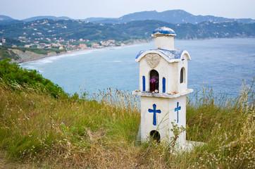 Little chapel on Corfu island, Greece