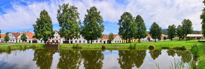 Holasovice in Czech Republic - village on UNESCO heritage list