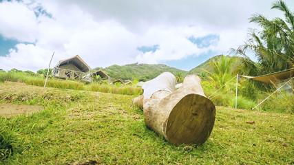luxury camping in Mauritius
