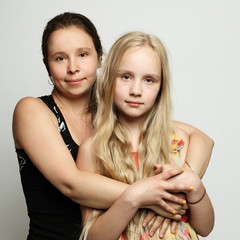 Two women mother and daughter