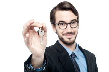 Keys to your new home !