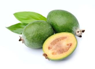 Feijoa fruits . Sellowiana