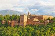 ancient arabic fortress of Alhambra, Granada, Spain - 75923884