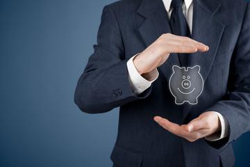Protect financial savings
