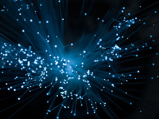 abstract optic fiber background