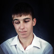 Pensive Young Man