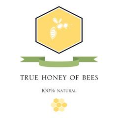 Etichetta per il miele
