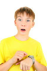 Kid with the Watch
