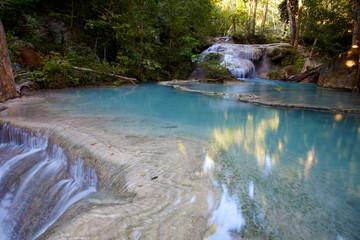 Kanchanaburi waterfall a