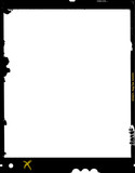 large format film sheet negative, 4 x 5 inch, photo frame, ,with - 75928402