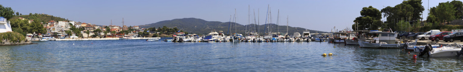 Marina in the Neos Marmaras