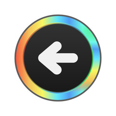 Colorful Web Button