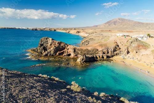 canvas print picture Lanzarote