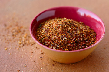 Merquén, a spice blend used in Chile.