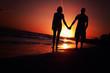 summer holidays couple at beach