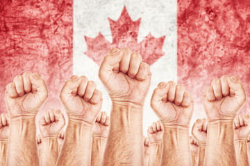 Canada Labour movement, workers union strike