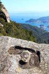 龍ヶ岳山頂 ハート岩
