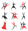 Dance icons