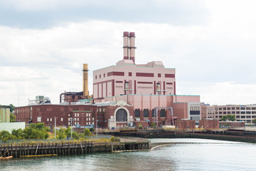 Power Station on Shipping Channel