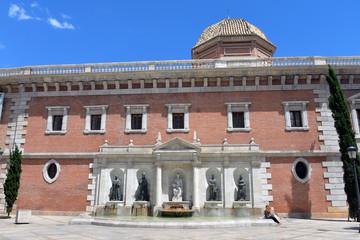 Brunnen am Colegio del Patriarca in Valencia