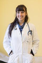 giovane dottoressa