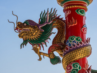 Chinese temple in Ang Sila, Chonburi, Thailand