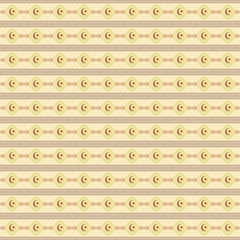 Seamless Crescent Pattern