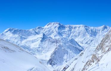 Mountains peak