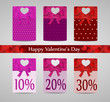 Valentines day price tags