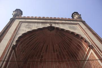 porche de la mosquée Jama Masjid