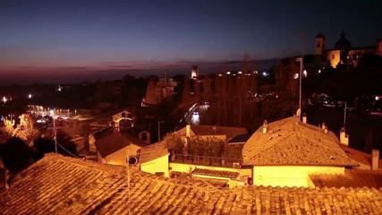 Viterbo By Night