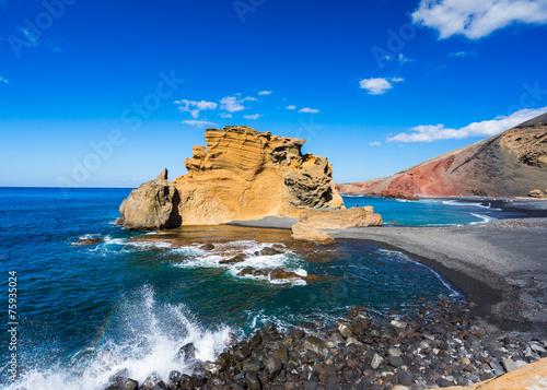 canvas print picture El Golfo, Lanzarote