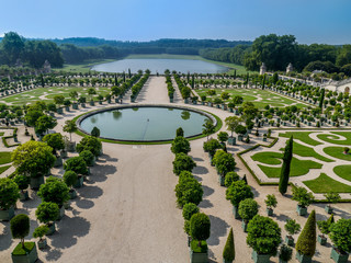 Orangerie garden of Versailles Palace