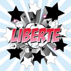 liberté boom étoile filante