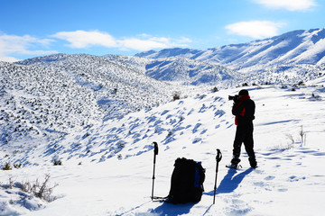 dağcılık ve fotoğrafçılık uğraşı