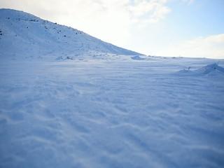 karlı dağlarda tipi