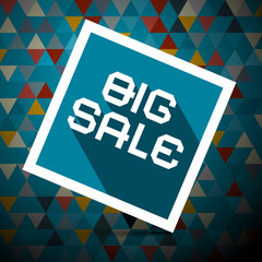 Big Sale Vector Illustration