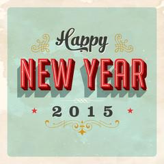 New Year's Eve Card - Vector EPS 10.