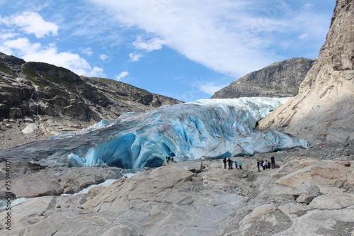 Nigardsbreen is a glacier in Norway. - 75944017