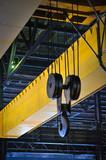 Crane gantry in steel plant - 75944285