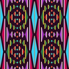 Seamless Rug Blanket Themed Pattern