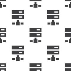 net drive, vector seamless pattern .