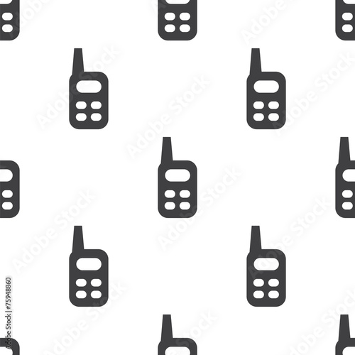 radio, vector seamless pattern . - 75948860