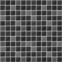 gray mosaic tiles texture with white filling